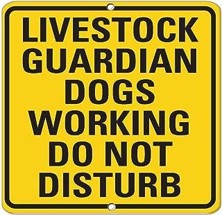 vintage livestock signs