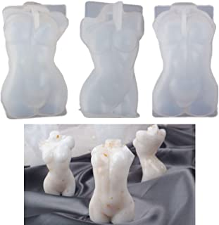 Body Candle Mold 3D Silicone Female Body Mold for Resin Epoxy Casting Body Molds for Candle Making Goddess Mold