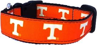 NCAA Tennessee Volunteers Dog Collar (Team Color, Large)