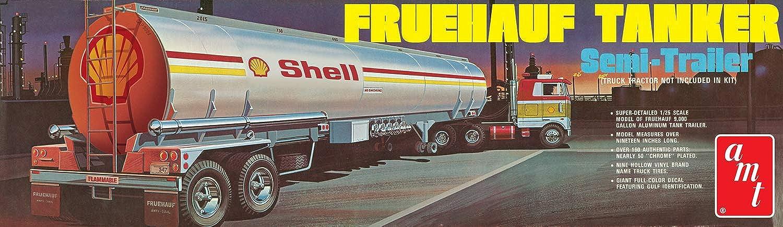 Round2 AMT918 06 1 25 Fruehauf Tank-Anhnger Shell, Keine