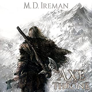 The Axe and the Throne audiobook cover art