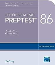 The Official LSAT PrepTest 86: (Nov. 2018 LSAT)