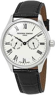Frederique Constant Classics Silver Dial Leather Strap Men's Watch FC-259WR5B6