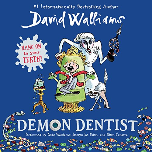 Demon Dentist audiobook cover art