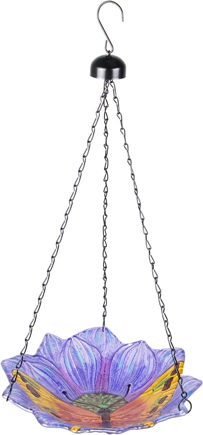 MUMTOP Hanging Bird Fashion Bath-Bird Challenge the lowest price Baths BirdBat for - Outdoors Glass
