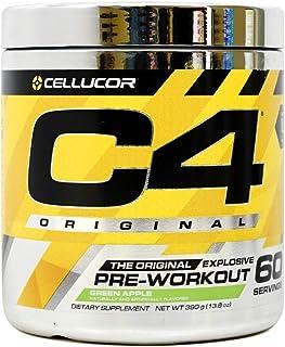 Cellucor International Version C4 オリジナルプレワークアウトパウダー グリーンアップル 60杯分 [海外直送品]