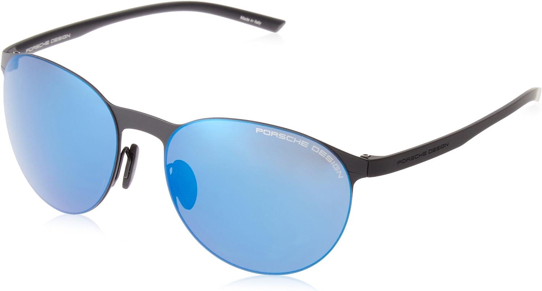 Porsche Design Sunglasses P8660 A Black 5717  Unisex