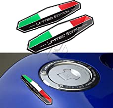 3D Motorbike Decals Italy Flag Sticker Italia Limited Edition Sticker Motorcycle Car Tail Body Sticker