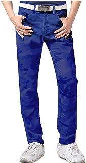 【NewEdition GOLF®】 『ストライプ柄・チェック柄・迷彩 カモフラージュ柄』 ストレッチ メンズ ゴルフ パンツ 小さいサイズ~大きいサイズ NEG-029