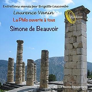 Couverture de La philo ouverte à tous : Simone de Beauvoir