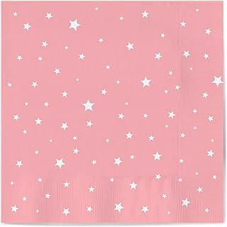 Servilletas de papel decoradas con diseño Estrella color