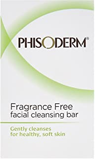 pHisoderm Facial Skin Cleansing Bar, Fragrance Free, Value Double Pack