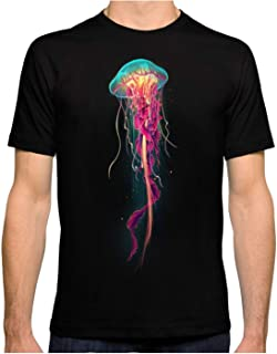 ZSHOOCL Hombre Jellyfish interessante Camiseta