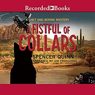A Fistful of Collars audiobook cover art