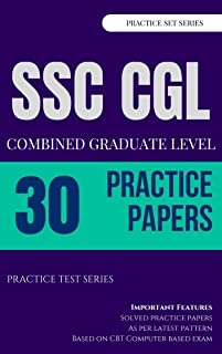 Practice Sets SSC CGL Tier-I with Solutions (on CBT Based Pattern): Mocktime Publication