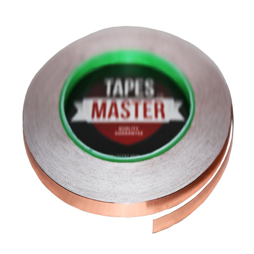 Max 70% OFF Tapes Master 1 8'' x 36 Max 68% OFF yds Foil 3mmx33m EMI Shi - Tape Copper