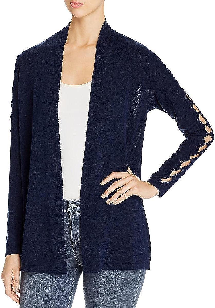 Vince Camuto Womens Split Sleeves Jacket Cardigan Sweater