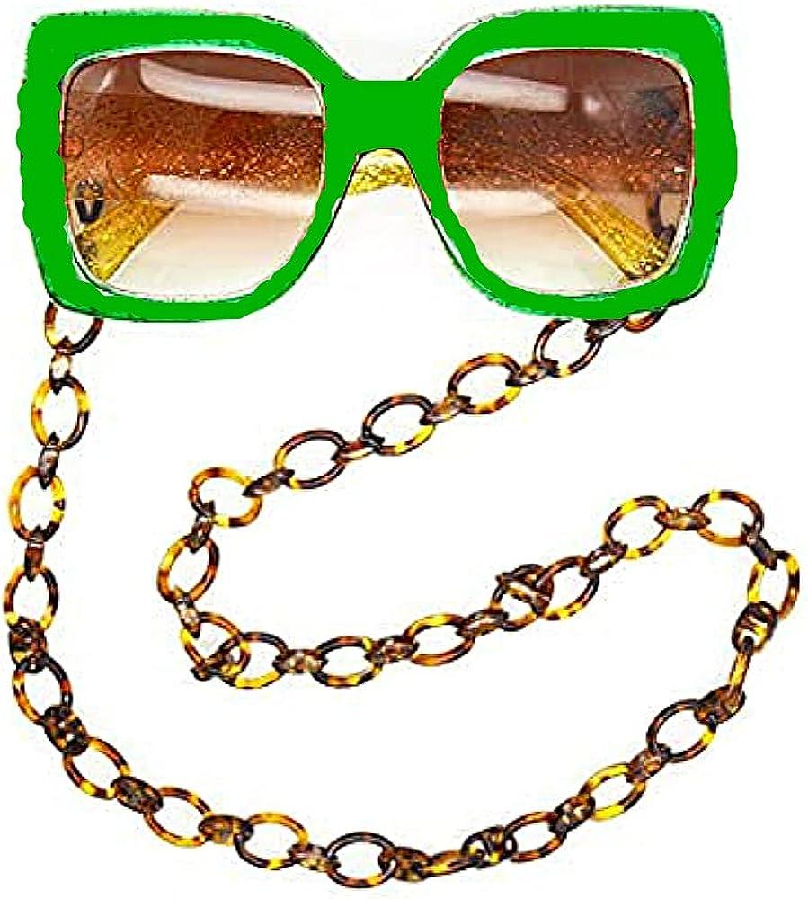 Sither Fashion Twist Link Acrylic Eyeglass Chain Necklace Sungla