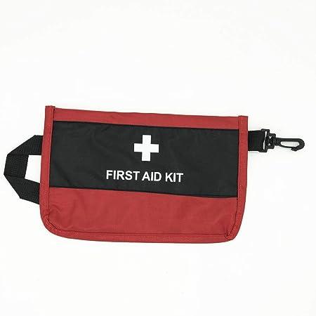 AOYATIMEメディカルポーチ 救急セット 応急処置キット救急 防水 ミニ救急箱 耐用携帯用救急箱収納便利