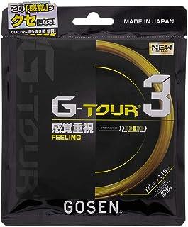 ゴーセン(GOSEN) テニス 硬式 ガット ジー・ツアー 3