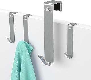 MDCASA Roestvrij stalen deurhaken - 4 stuks - Deurhanger - Raamhaak - Kledinghaak - Handdoekrek - Deur handdoekhouder