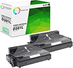 TCT Premium Compatible MLT-D201L MLTD201L Black High Yield Toner Cartridge Replacement for Samsung ProXpress M4080FX M4030ND Printers (20,000 Pages) - 2 Pack