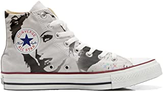 Zapatillas All American USA – Base Type Star Unisex – Impresión Vintage 1200 dpi – Estilo Italiano – Zapatos Personalizado...