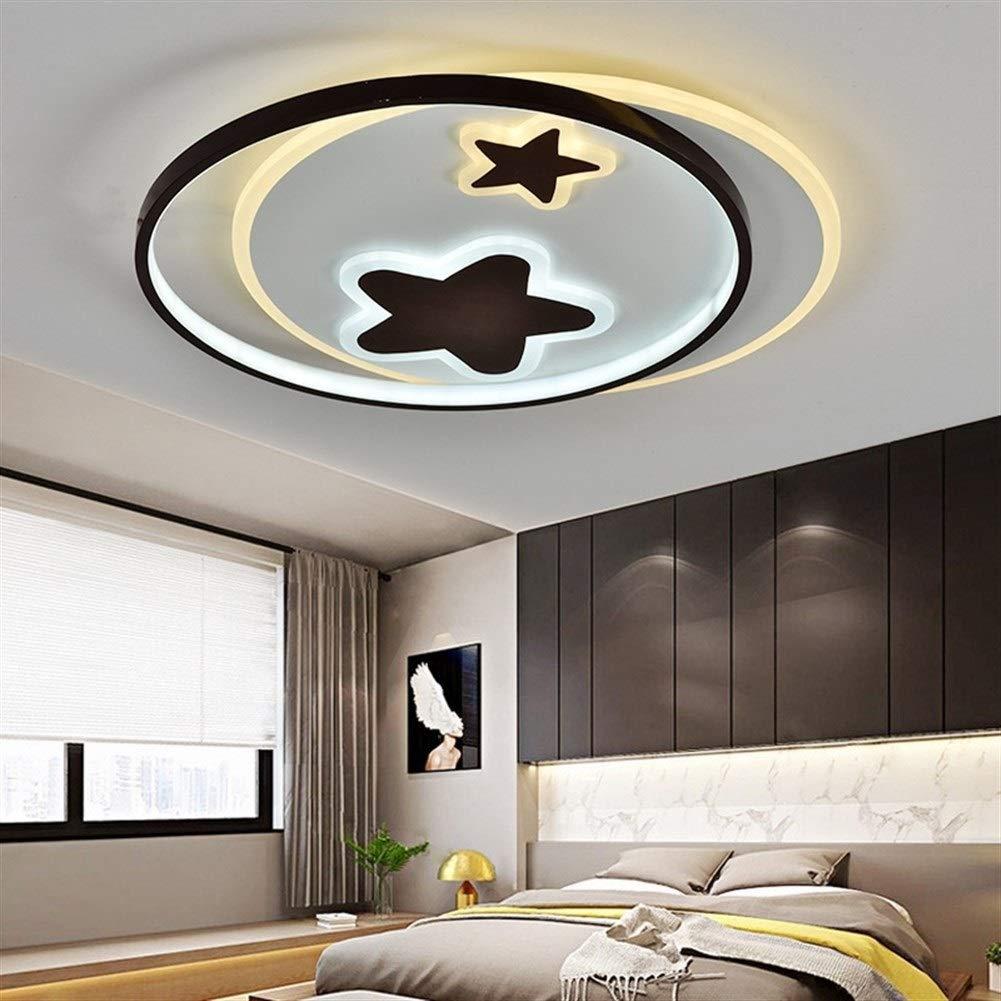 LVYI Schlafzimmer Lampe Einfache Moderne LED-Deckenleuchte warme