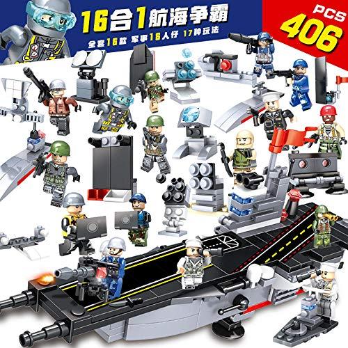 Puzzle Jigsaw Legpuzzel voor kinderen 8 jaar oud 6 baby bouwjongen militaire politie 7 vliegdekschip puzzelstukje