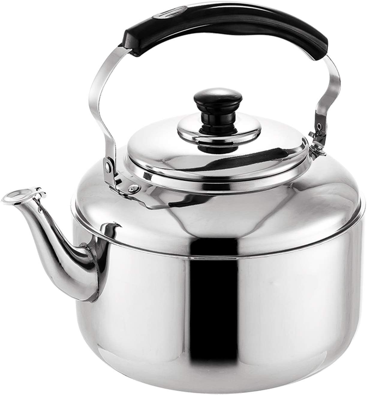 Whistling Kettles Large Capacity 304 Stainless Kettle Free shipping anywhere in the nation 2021 new Steel Tea