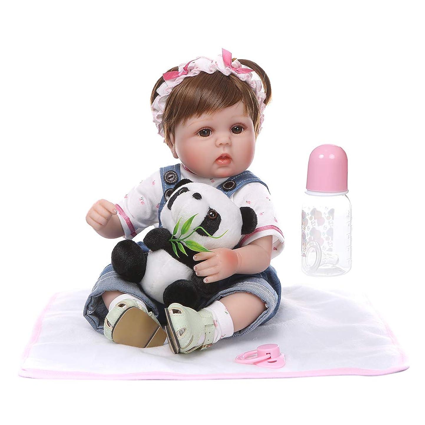 勧める化学者おとうさんbluederst 16 ''生まれ変わった赤ちゃん女の子人形生まれたばかりの赤ちゃん人形リアルなリアルシリコーンビニール新生児赤ちゃんのおもちゃ女の子王女服おしゃぶりリアルな手作りギフト