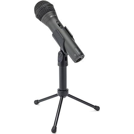 SAMSON Q2U Handheld Dynamic USB Microphone Recording and Podcasting Pack (Black)