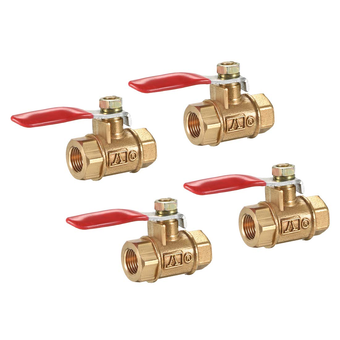 uxcell Brass Air Fixed price for sale Ball Valve Shut-Off Female to Switch Classic Femal G1 8