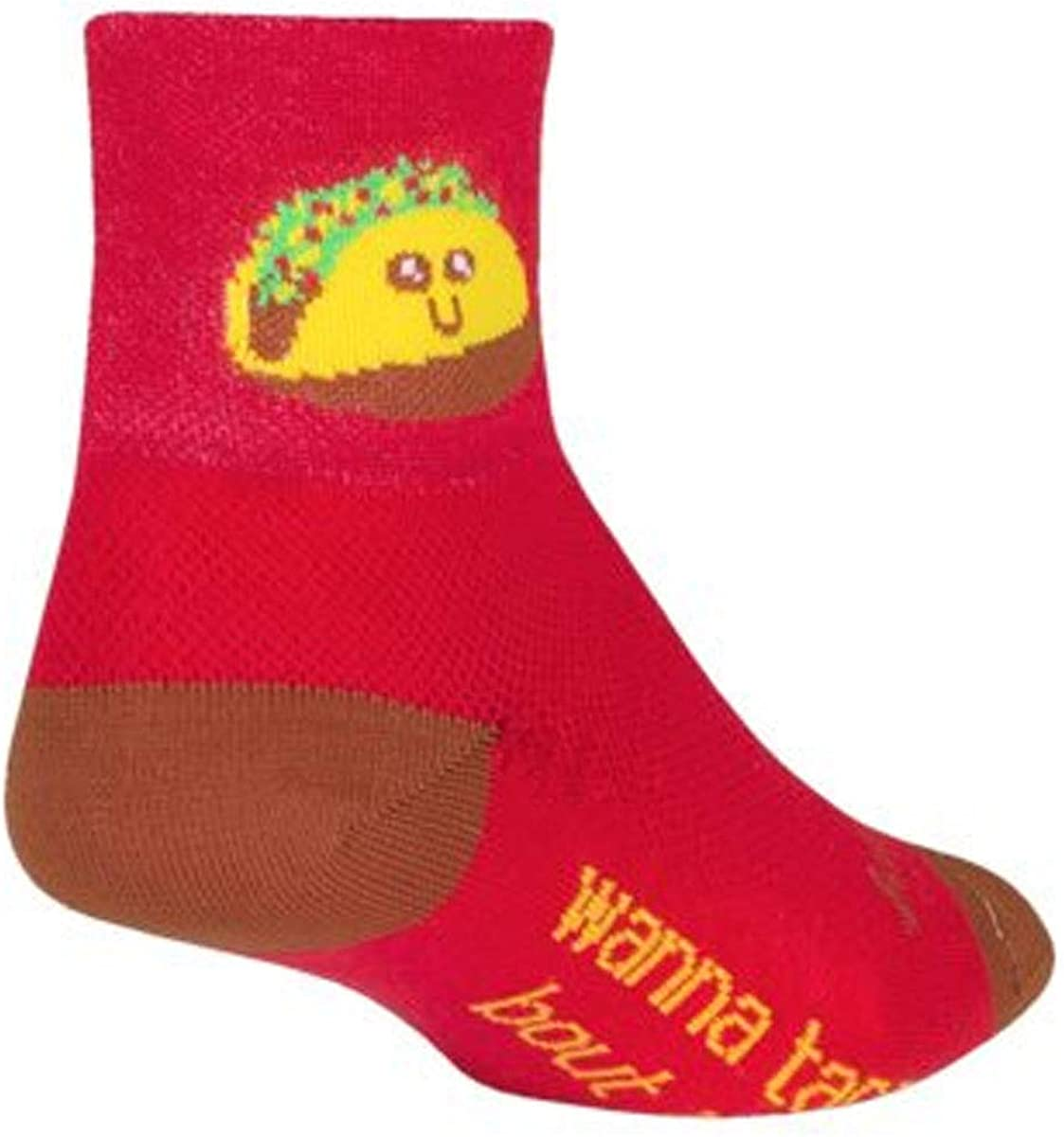 SockGuy Taco Therapy Cycling/Running Sock