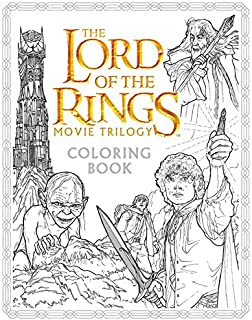 The Lord of the Rings Movie Trilogy Coloring Book