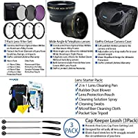 Pixi Pro Accessory Package For AF-S DX NIKKOR 55-300mm f/4.5-5.6G ED Vibration Reduction Zoom Lens with Auto Focus [並行輸入品]