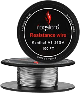 Resistance Wire Kanthal A1-24 AWG Gauge Spools 100 Feet