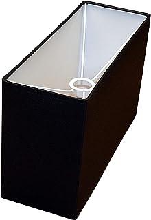 Abażur 320x120x200 mm podstawa x wysokość   Bawełna Bawełna czarna   Pod oprawkę E27 (dużą)   Do lamp stołowych, podłogowy...