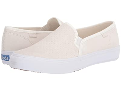 Keds Double Decker Perf Suede (White) Women