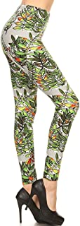 Women's Ultra Soft Printed Fashion Leggings BAT18