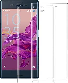 【2枚セット】Sony Xperia XZ ガラスフィルム (SO-01J SOV34) エクスペリア XZs (SO-03J SOV35 602SO) フィルム 液晶保護フィルム 硬度9H/飛散防止/指紋防止/気泡防止/自動吸着/高透過率 Xperia XZS 強化ガラスフィルム