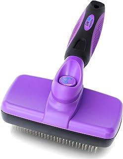 لوازم حیوان خانگی جنرال موتورز برس تمیز کننده خود تمیز | این بهترین برس سگ و گربه برای ریختن و نظافت | برس های حیوانات خانگی ما دارای طول مناسب و مو هستند