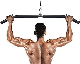 Lat Pulldown Bar, Trekstang Kabelmachine Bijlagen voor Home Gym Multifunctionele Lat Balk Fitness-Pull-Upstang Krachttraining