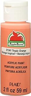 Apple Barrel Acrylic Paint in Assorted Colors (2 Ounce), 21341E Matte Tropic Orange