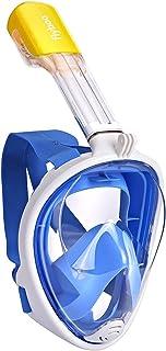 comprar comparacion Flyboo Máscara de Snorkel,180° Vista Máscara de Buceo con diseño panorámico de Cara Completa Cámara Deportiva Compatible M...