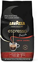 Lavazza Espresso Barista Gran Crema Whole Bean Coffee Blend, Medium Espresso Roast, 35.2 Oz Bag (Packaging May Vary)