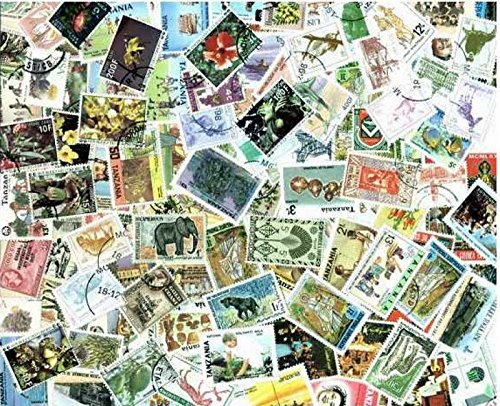 Africa Stamp Collection - 200 Different Stamps