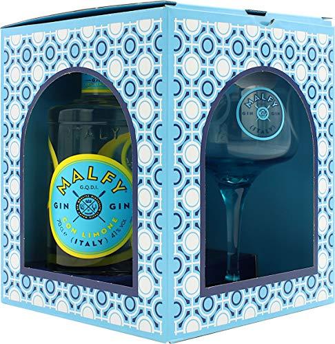 Malfy Gin Con Limone Geschenkset mit Glas 41.0{ed51f901694c30dcdb69312bfd98f2adce29d534912a7fa39d46153c5129815d} 0,7l