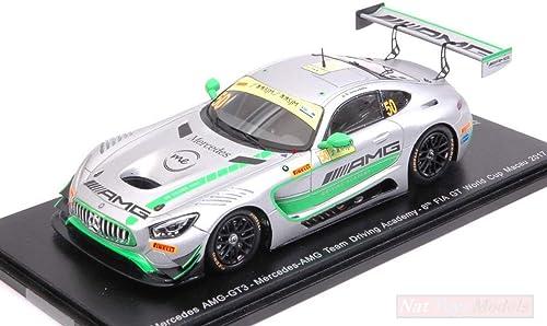 Esperando por ti Spark Model SA141 SA141 SA141 Mercedes AMG GT3 N.50 Fia GT World Cup Macau 2017 1 43 Compatible con  orden en línea