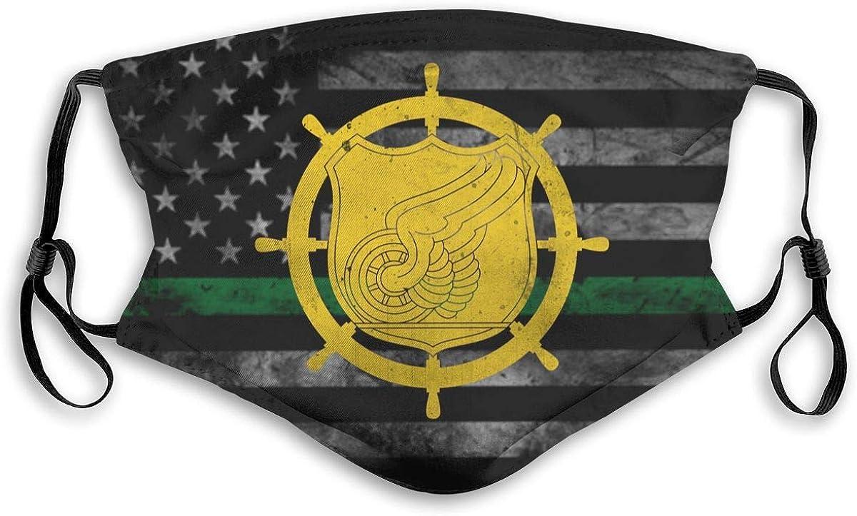 Us Army Vessel Transportation Flag Face Max 65% OFF 5-Laye Men Bandana Women OFFer